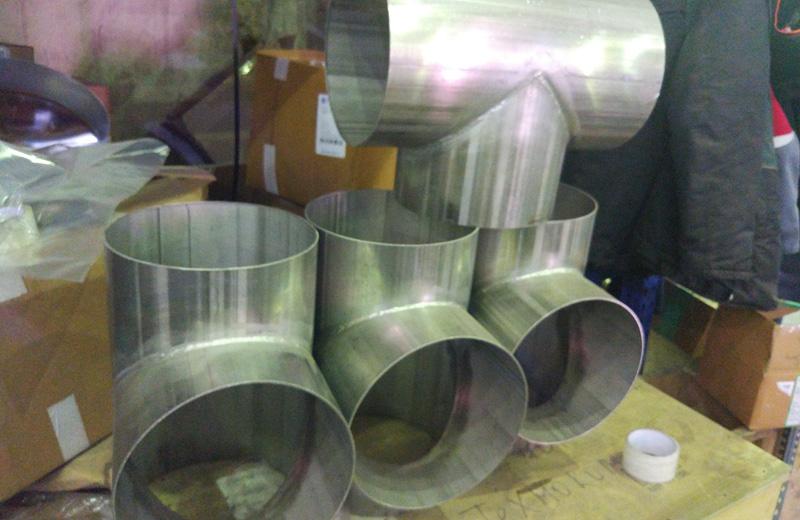 Производство нестандартных металлоконструкций из нержавеющей стали и оборудования из нержавейки на заказ