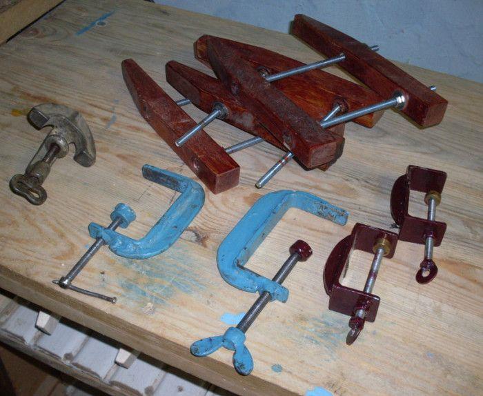 Струбцина своими руками (62 фото): самодельные струбцины в домашних условиях из дерева. как сделать из профильной трубы для склейки щитов? чертежи с размерами