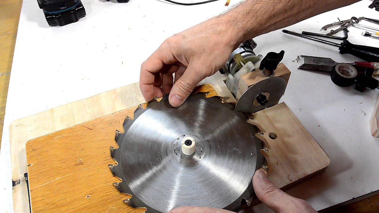 Станок для заточки дисковых пил своими руками: схемы, изготовление