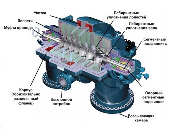 Устройство и принцип действия роторного насоса