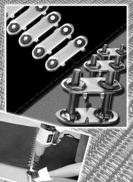 Стыковка конвейерных лент: методы, материалы, прессы