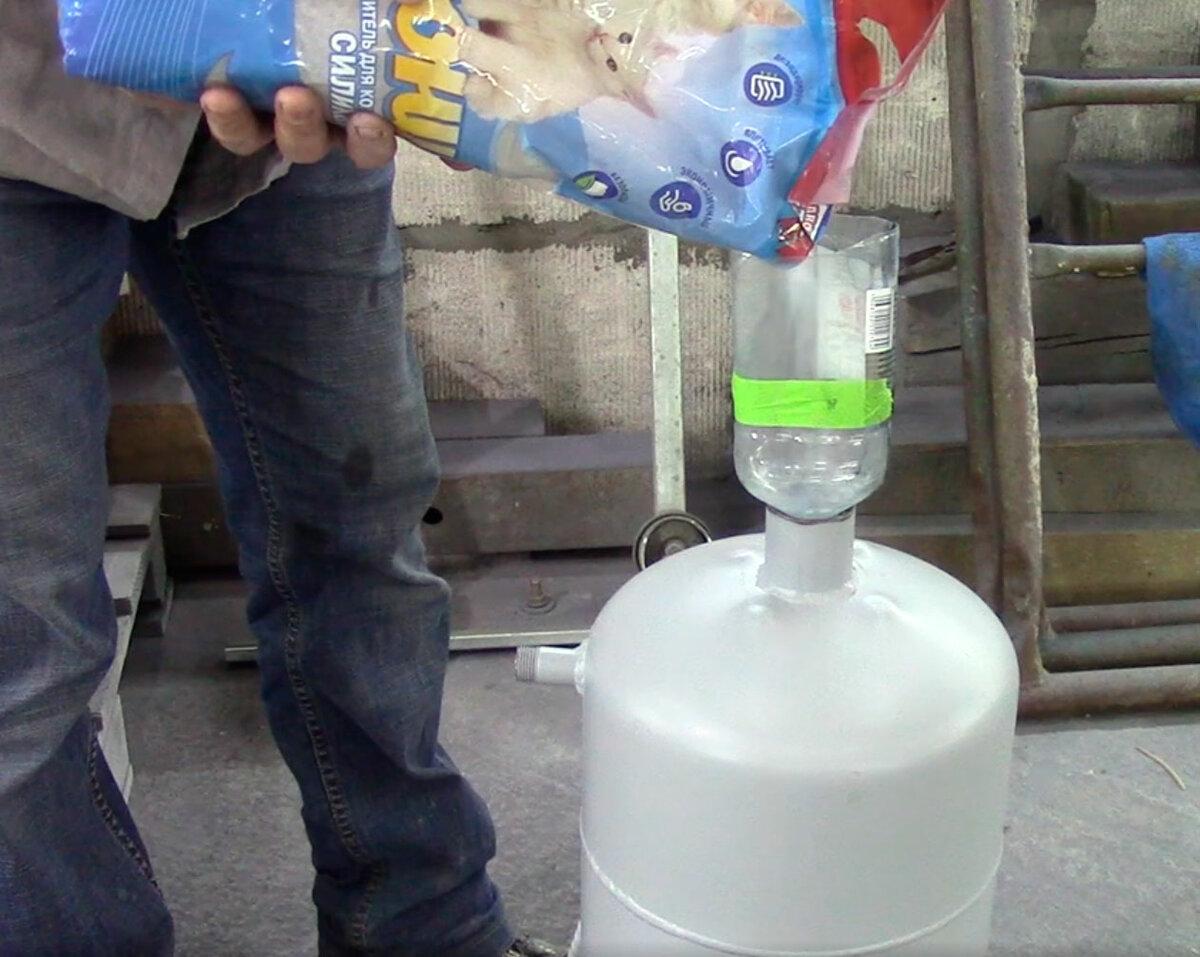 Устройство и ремонт осушителя воздуха своими руками