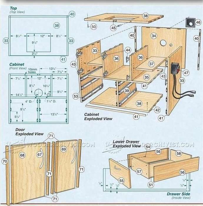 Фрезерный стол для ручного фрезера своими руками, пошаговая инструкция