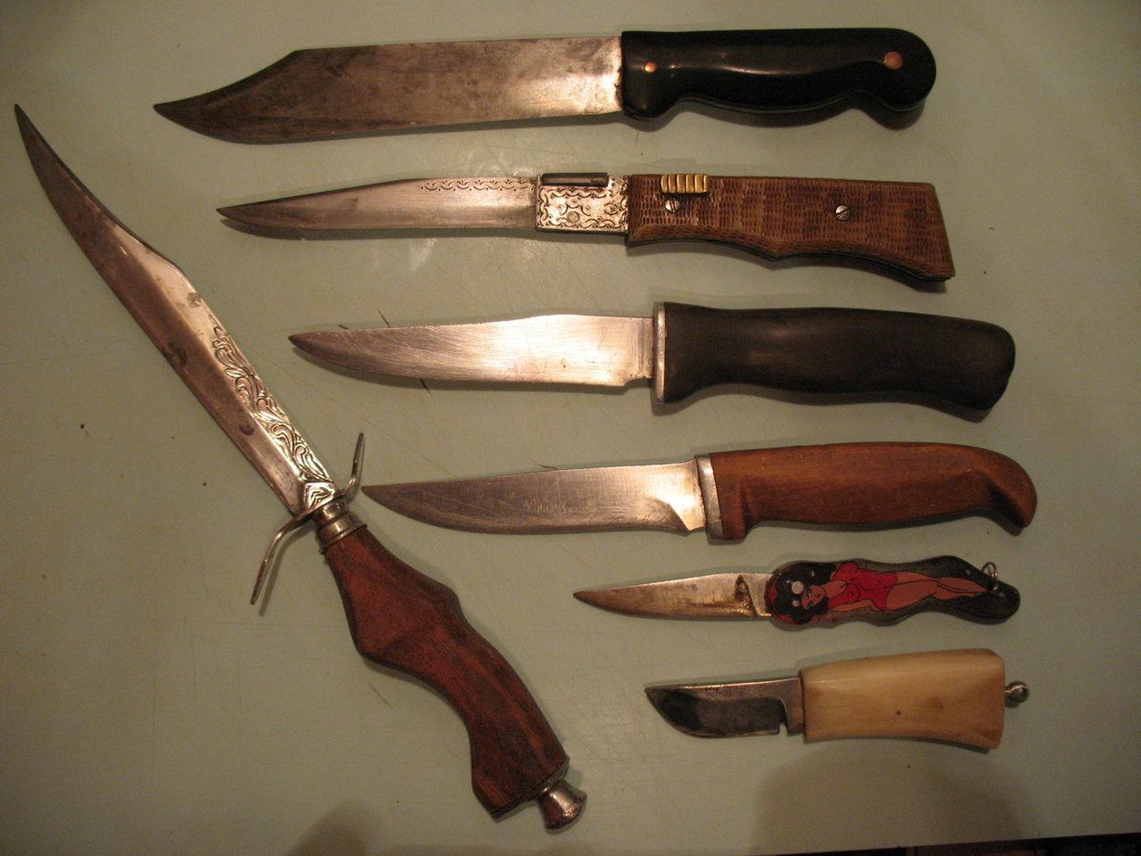 Ковка ножа: из чего лучше делать [4 вида ножей и материалов]