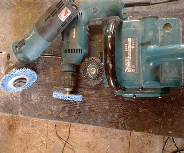 Браширование древесины - инструмент и поэтапная инструкция