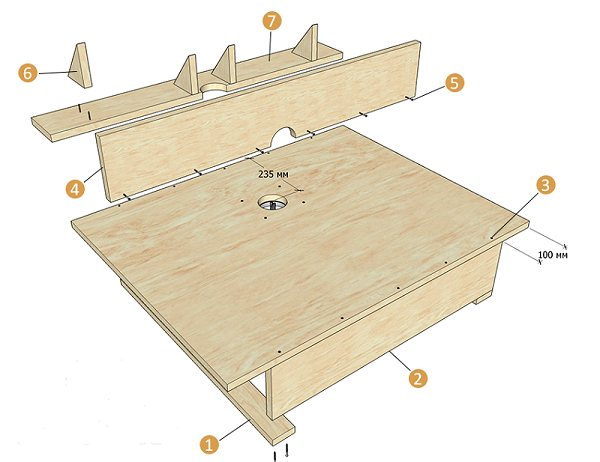 Фрезерный стол своими руками: стол для фрезера своими руками с чертежами, столик для ручного фрезера чертежи