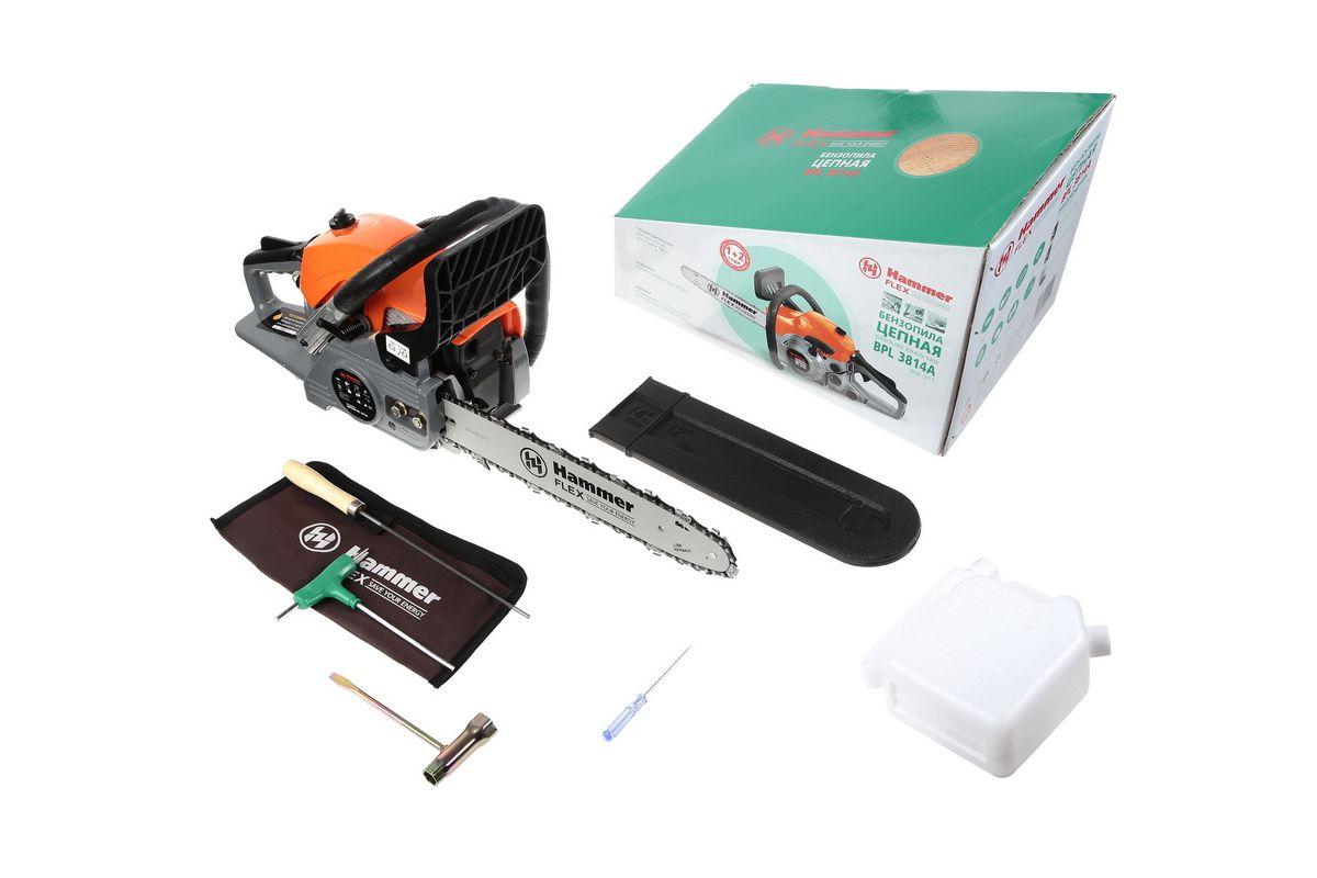 Бензопилы и электропилы hammer: обзор модельного ряда