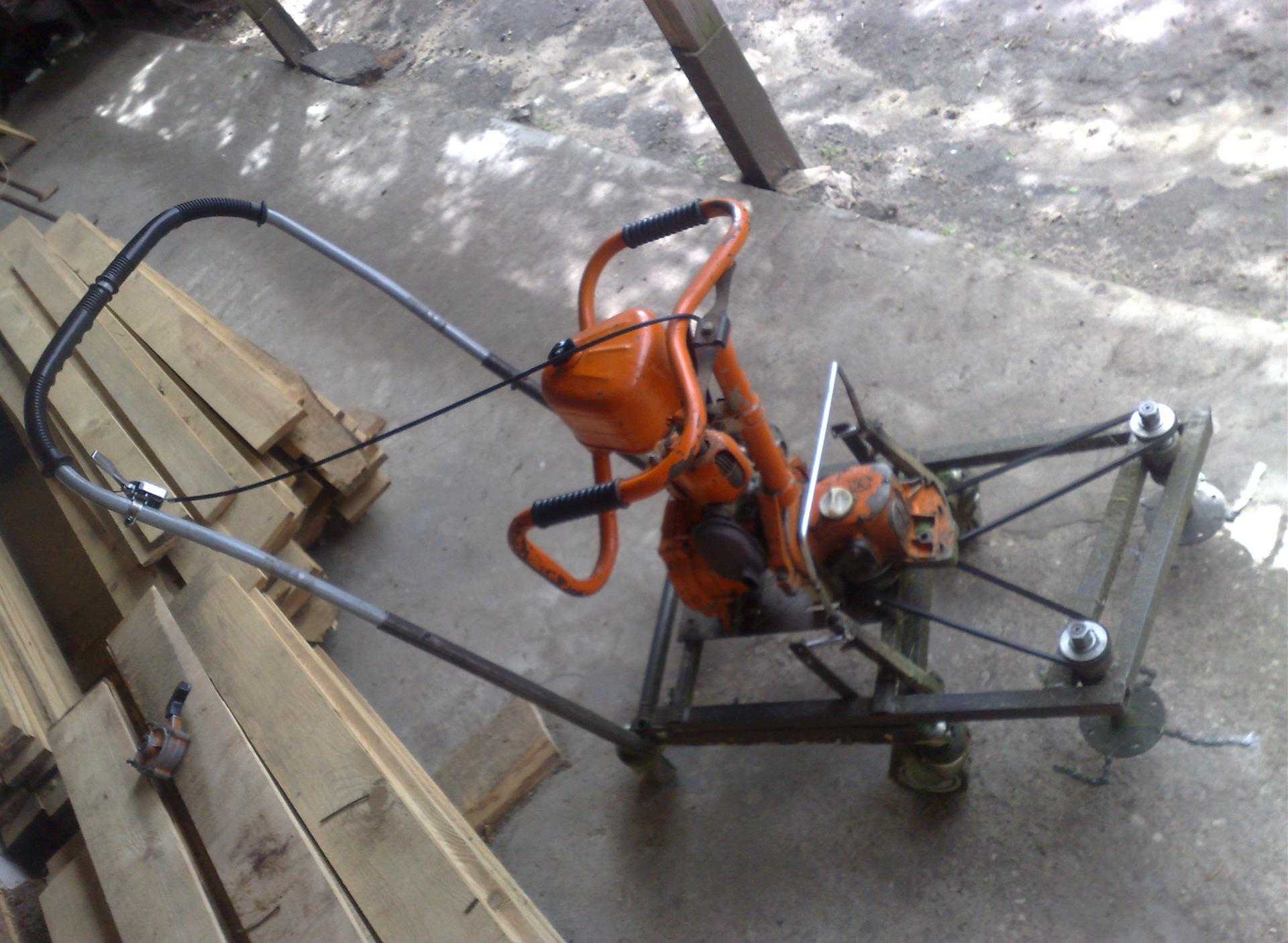 Самоделки из бензопилы: что можно сделать, генератор, лебедка, бур, культиватор, компрессор, косилка, циркулярка, машина, самокат, вертолет