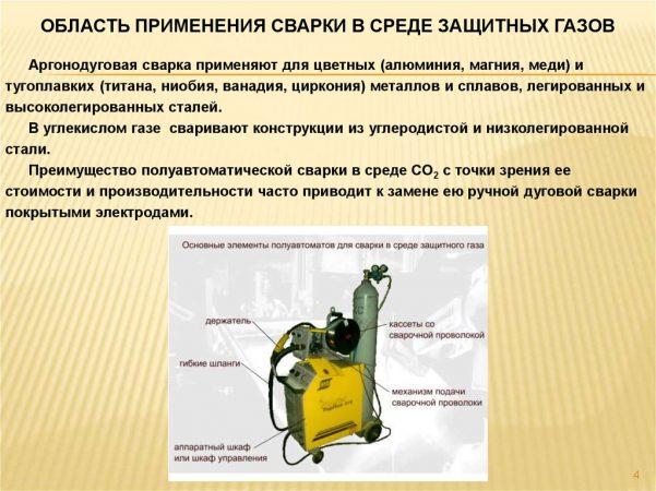 Сварка в углекислом газе