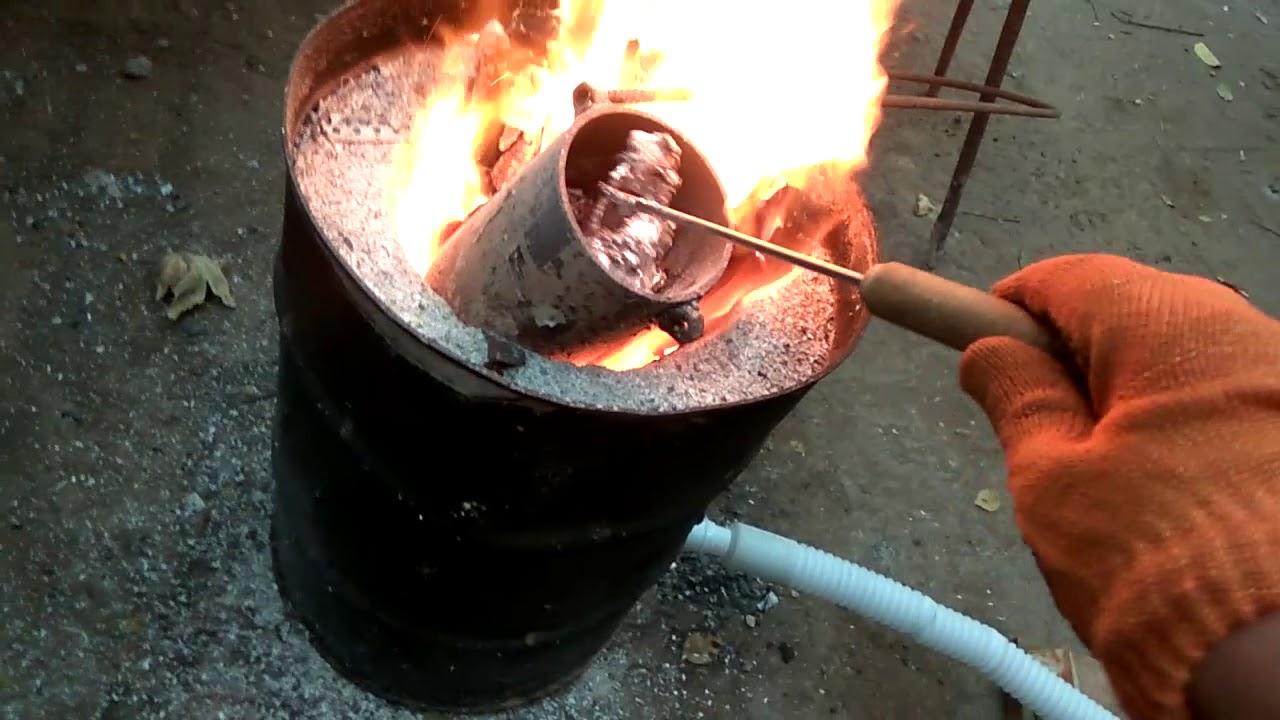 Как плавить металл в домашних условиях - о металле