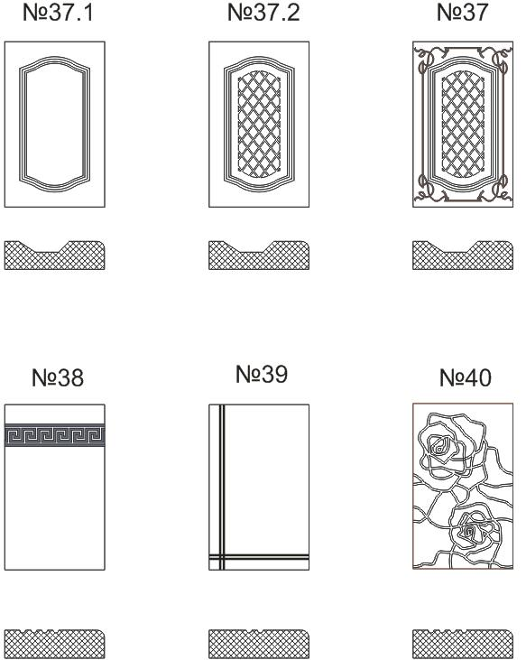 Фрезеровка мдф 3d и не только - виды станков и способы обработки фасадов