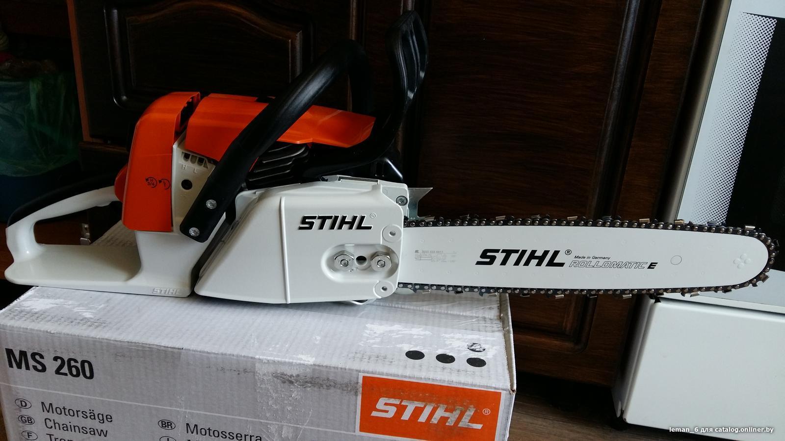 Бензопила stihl ms 261: обзор, характеристики, отзывы