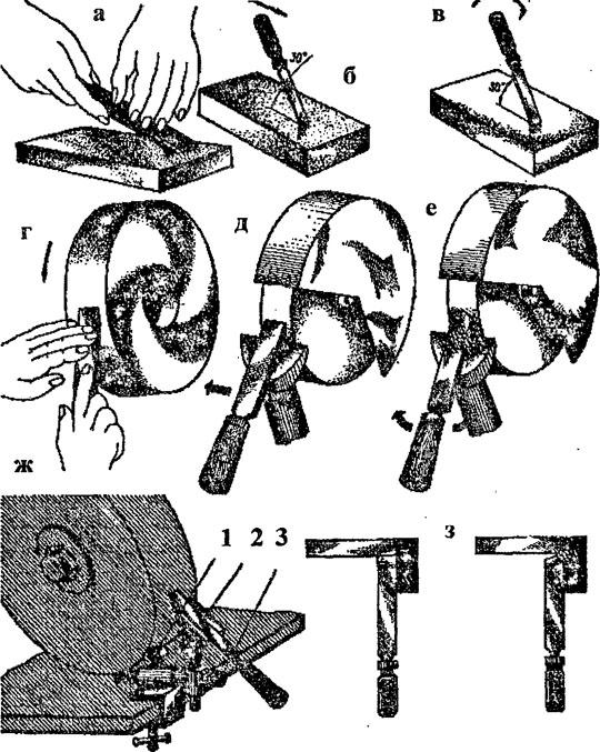 Как правильно затачивать резцы