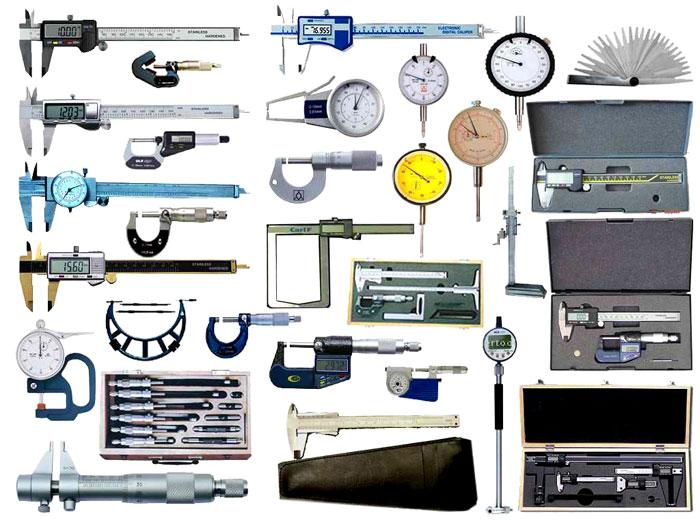 Самые распространенные виды измерительных приборов