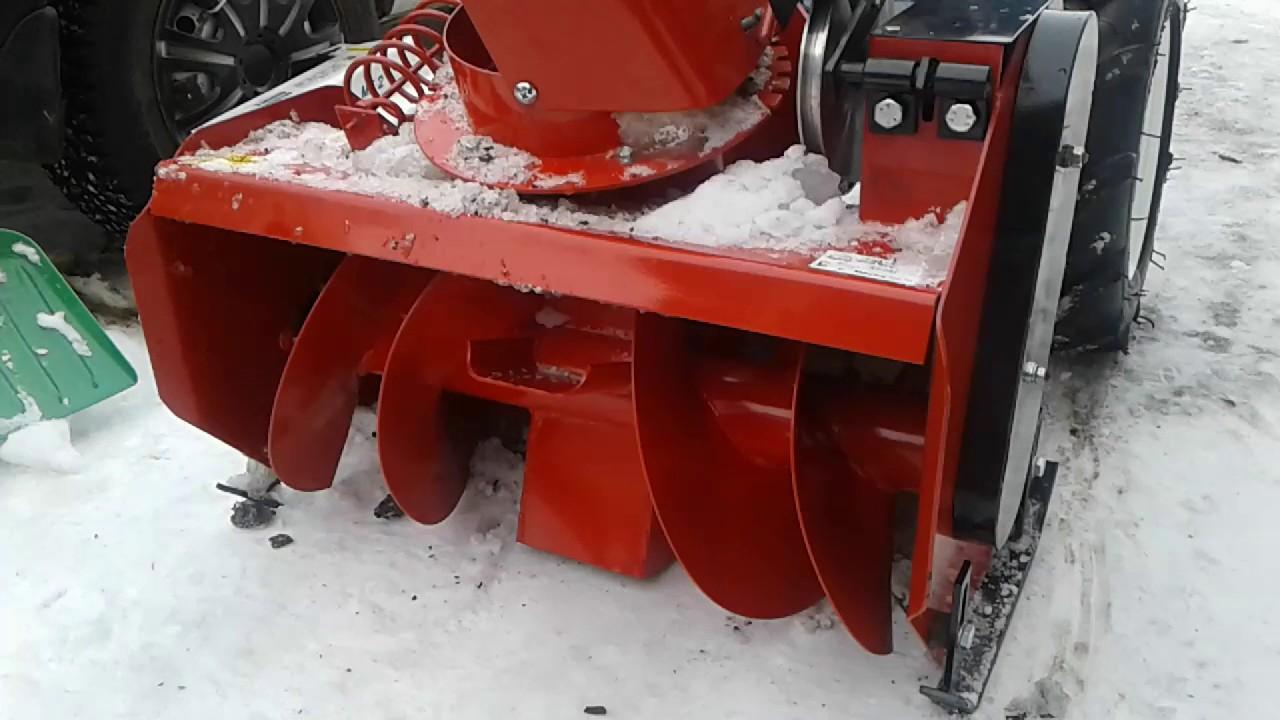 Советы по выбору снегоуборочных приставок
