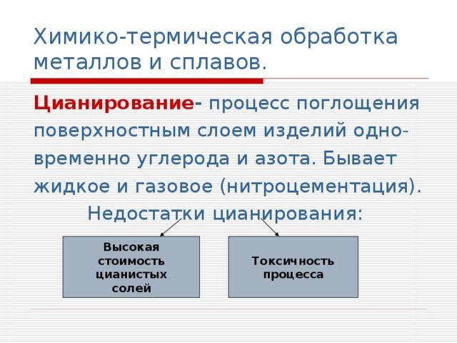Термическая обработка сплавов. виды термообработки