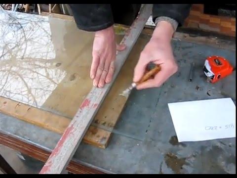 Можно ли резать плиткорезом стекло. как нарезать стекло без стеклореза