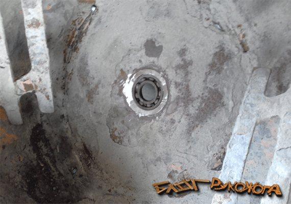 Как поменять подшипник на бетономешалке? замена и ремонт своими руками, как снять с барабана, какой нужен размер