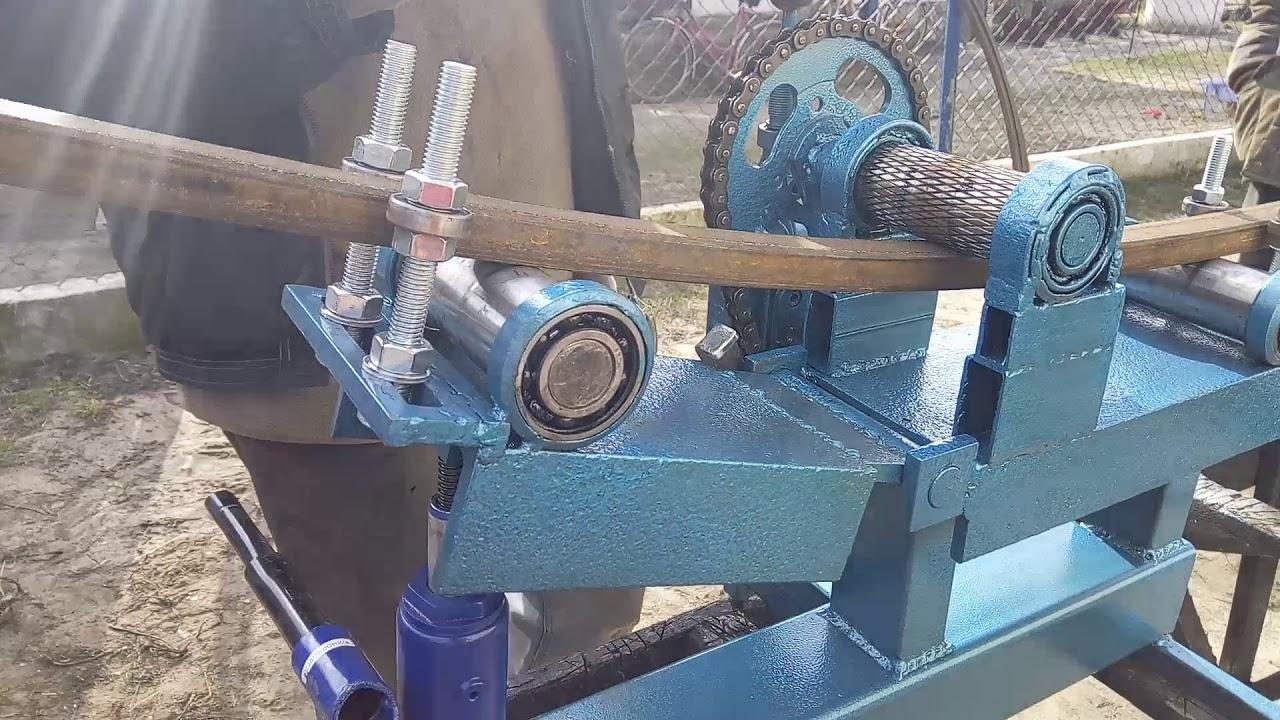 Трубогиб для профильной трубы: особенности, виды и изготовление своими руками