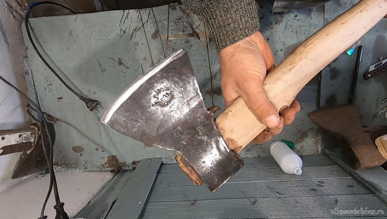 Как сделать топор своими руками