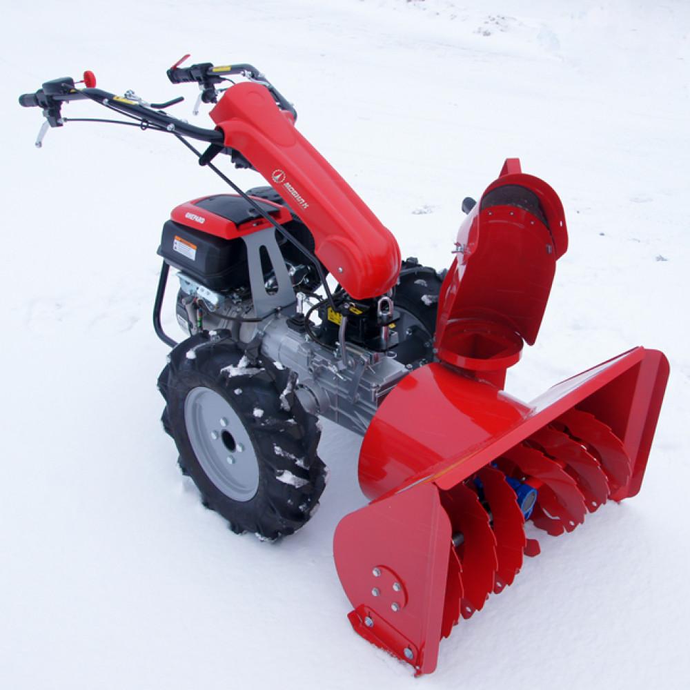 Выбираем снегоуборщик для мотоблока «нева»
