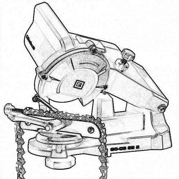 Приспособление для заточки цепей бензопил, способы применения заточных устройств автоматических и ручных