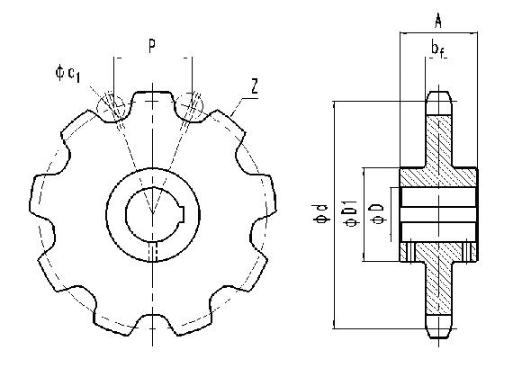 Гост р 54917-2012 цепи роликовые длиннозвенные и звездочки для приводов и конвейеров