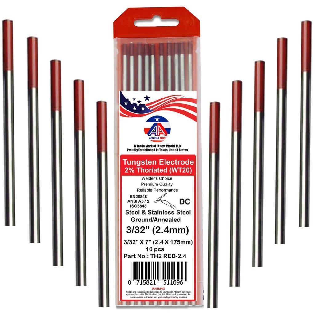 Вольфрамовые электроды: виды, состав, применение