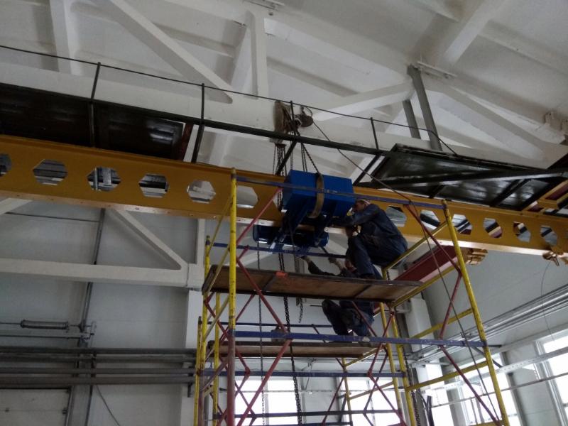 Основные этапы монтажа и демонтажа мостового крана