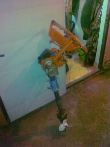 Лодочный мотор из бензопилы: делаем своими руками