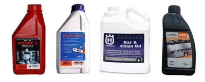 Масло для цепи бензопилы — какое использовать