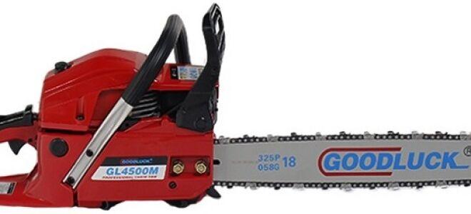 ✅ бензопила гудлак (goodluck): gl4500m, 5200, отзывы, инструкция, регулировка карбюратора, цена - спецтехника инфо - tym-tractor.ru