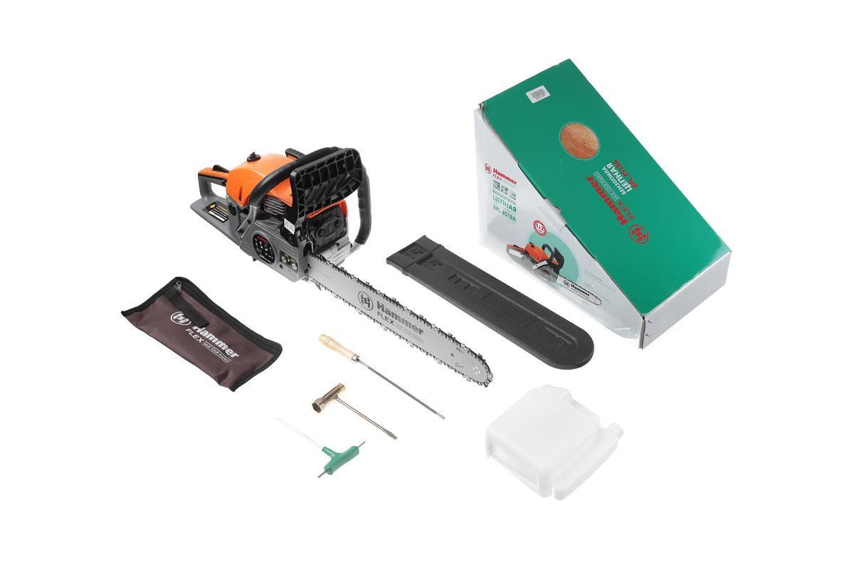 Бензопила hammer flex bpl4116a: обзор, отзывы, инструкция, видео