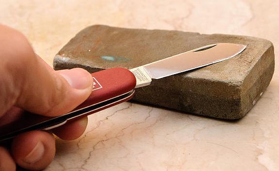 Алмазные камни для заточки ножей: виды, маркировка брусков и заточка