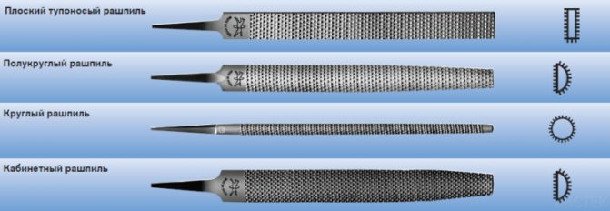 Изготовление напильников: сталь и твердость напильника