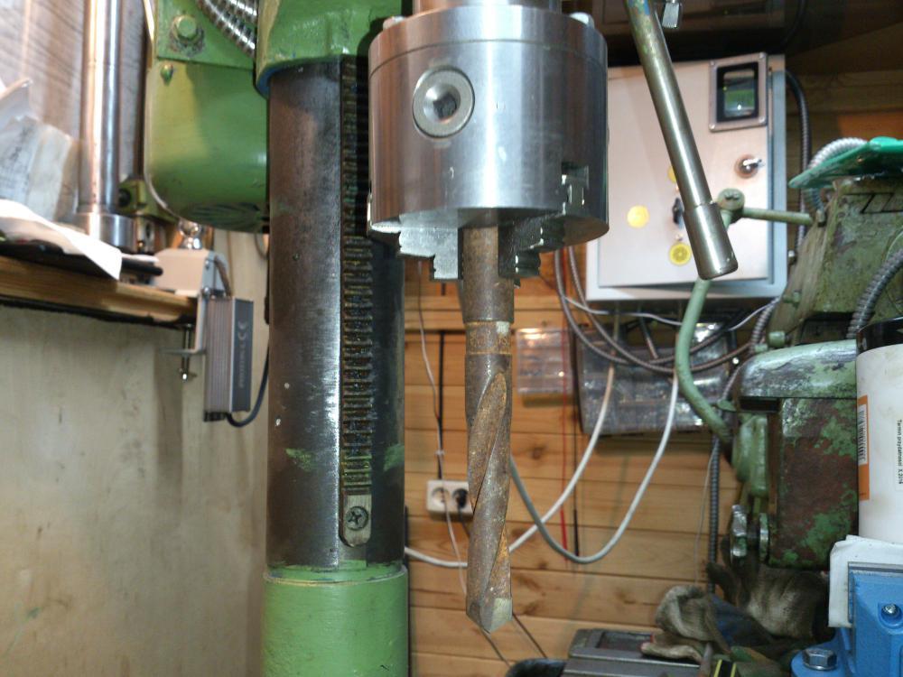 Модернизация сверлильных станков - автоматизация процесса и доработка оборудования