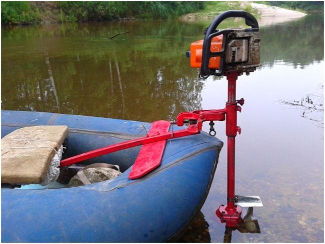 Самодельные лодочные моторы из триммера или бензопилы