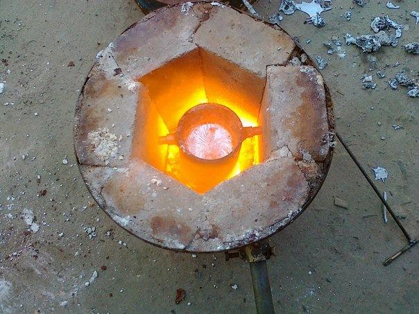 Как расплавить медь и ее сплавы в домашних условиях