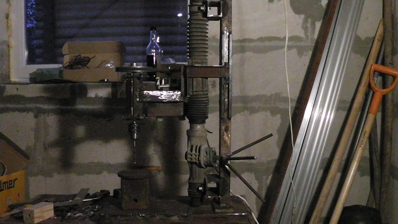 Устройство сверлильного станка, его модернизация