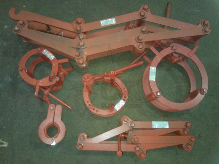 Центраторы для соединения труб под сварку