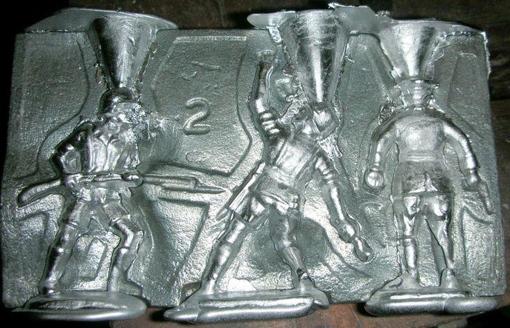 Литье из олова в домашних условиях