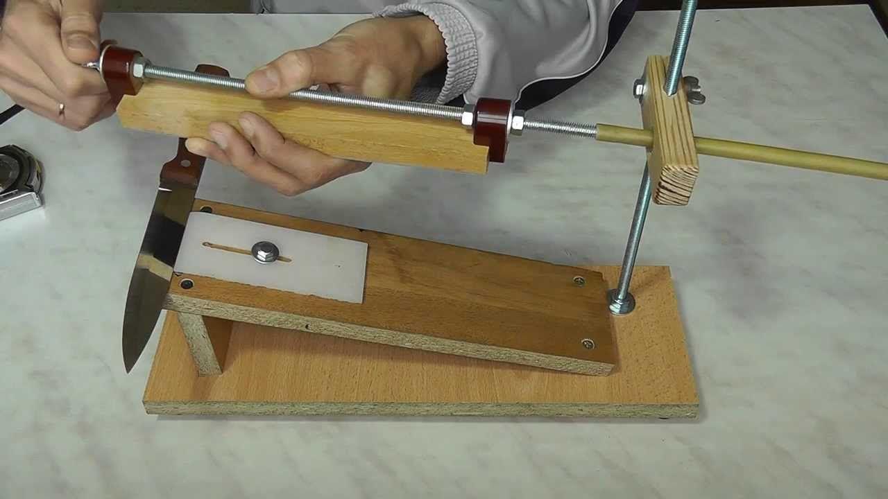 Станок для заточки ножей своими руками фото,видео