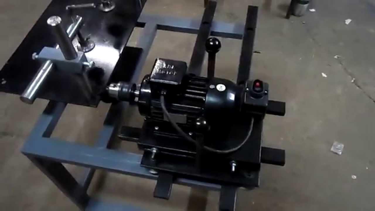 Самодельный долбежный станок по металлу видео