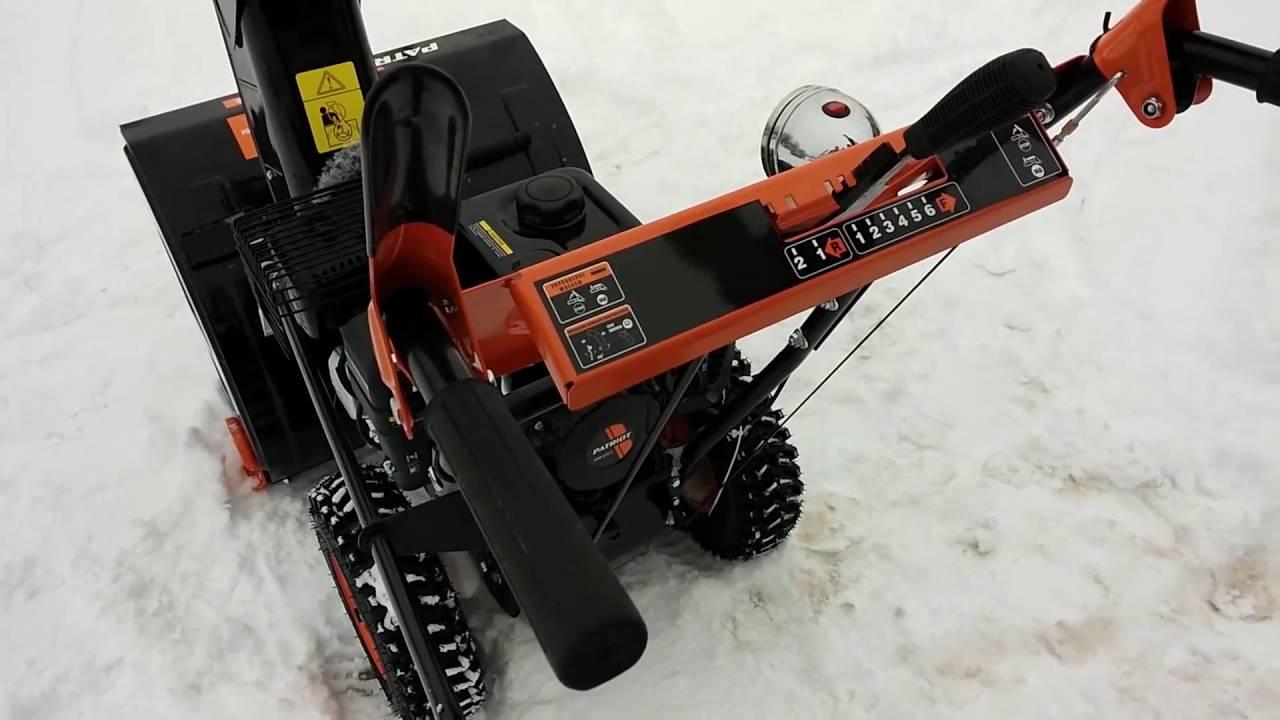 Снегоуборщик бензиновый patriot pro 655e технические характеристики, цена, отзывы владельцев
