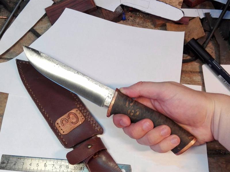 Как сделать нож своими руками в домашних условиях + видео
