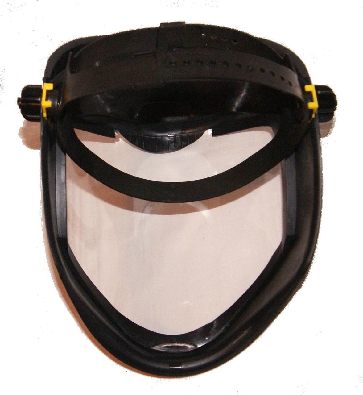 Защитный щиток для работы с триммером