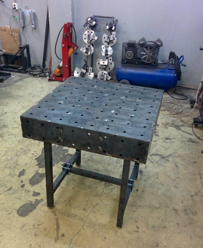 Сварочный стол своими руками — чертежи и пошаговый алгоритм изготовления