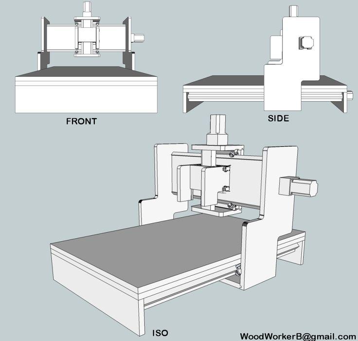 Особенности изготовления фрезерного станка с чпу своими руками