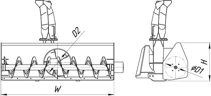 Снегоуборочная машина своими руками: возможные варианты