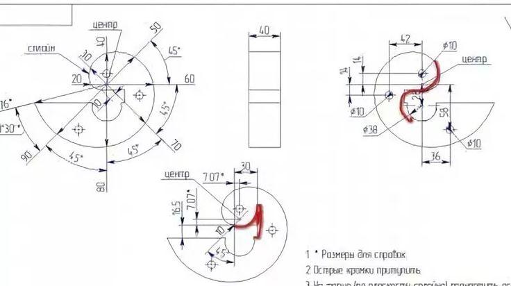 Улитка для холодной ковки: как сделать своими руками и чертежи для изготовления самодельного станка